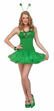 New Green Slip Dress with Attached Crinoline  by Forum 69673 Costumania