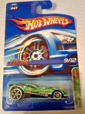 hot wheels 2006 treasure hunt # 9 cul8r crome green comos wheels