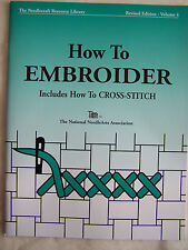 How to EMBROIDER Book NEW