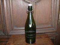 rarität ca. 100 Jahre alte Bierflasche Oberkirschberg  1  Liter    4