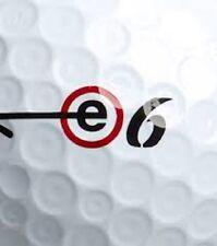50 Bridgestone E6 Mint Used Golf Balls AAAAA 5(A) First Quality