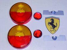 Ferrari 275 Rear Tail Light Lamp Lenses_Altissimo Lens GTB/4_268.12.01_NEW_PAIR