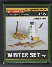PLUSMODEL PLUS MODEL 255 - WINTER SET - 1/35 RESIN