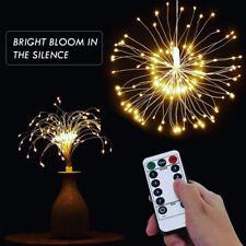 180 LED RGB Firework Light Copper Wire Fairy String Lights Christmas Party Decor