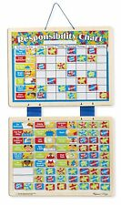 Track Good Behavior Melissa & Doug Magnetic Responsibility & Chore Chart 5059