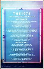THE 1975 North American Tour 2016 Ltd Ed RARE Poster +FREE Indie Rock Pop Poster