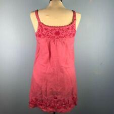 Lucky Brand Womens XS Pink Dress Linen
