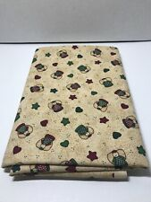 Little Quilts for Fabri Quilt Sewing Fabric 1 1/4 yards Christmas Angels Stars