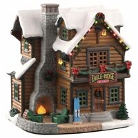 Lemax Vail Village 2020 EAGLE RIDGE SKI LODGE #05626 BNIB Lighted Porcelain Buil