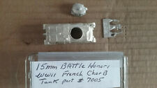 15mm Battle Honors  WWII French Char B Tank