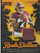 Dwayne Haskins Washington Redskins 2019 Playoff Rookie Stallions Jersey Relic RC