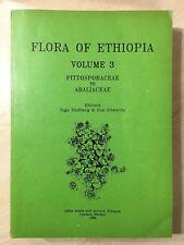 76881 Hedberg & Edwards - Flora of Ethiopia Vol. 3 - Addis Ababa 1989
