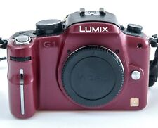 Panasonic Lumix DMC-G1 rojo (cuerpo)