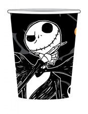 Nightmare before Christmas Party Cups Jack Skellington Halloween Party