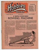 Vintage Hobbies Weekly Magazine Vol 110 No 2864 printed in 1950