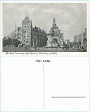 Flora Fountain Oriental Building Bombay India Vintage Postcard - Architecture