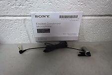 Sony ECM-CS3 Clip style Omnidirectional Tie-Clip Stereo Microphone (48600)