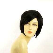 Perruque femme courte brun foncé LANA 2