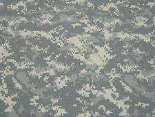"ACU Digital Camo Fabric 60"" W Ny/Co Nylon Cotton Twill Camouflage Military"