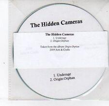 (DS277) The Hidden Cameras, Underage / Origin:Orphan - 2009 DJ CD