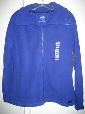Calvin Klein Purple Thick Fleece Zippered Jacket Performance Sport L NWT $59