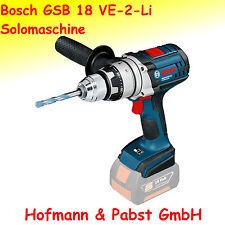 Bosch Akkuschlagbohrschrauber GSB 18 VE-2-LI  Sologerät