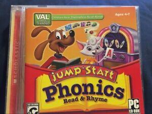 JUMPSTART PC CD-ROM PHONICS READ & RHYME