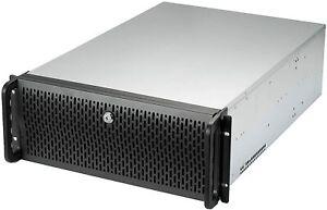 4U Rackmount Server Case 2 max/2 included 80mm Fans 6 max/6 included120mm Fans
