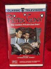 Peter Gunn VHS Video Tape Classic Television