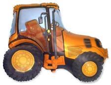 NEW YELLOW Tractor HUGE BALLOON mylar double side farm barnyard HELIUM #B15