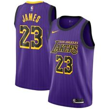 Nike 2018-19 NBA Los Angeles Lakers LeBron James 23 City Edition Swingman  Jersey 840230245