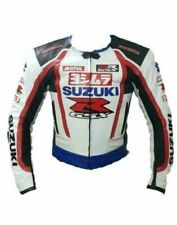 Customized Suzuki Motorbike Motorcycle Biker Racing Leather Sports Jacket