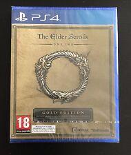 The Elder Scrolls Online Gold Edition ps4 nuevo embalaje original New sealed 4 DLC PlayStation