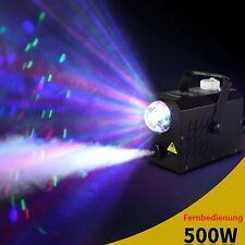 500W NEBELMASCHINE DJ Party Smoke Maschine Fogger Nebelfluid RGB LED Lichteffekt