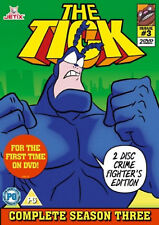 THE TICK COMPLETE SEASON 3 DVD Animation Original UK Release New Sealed R2