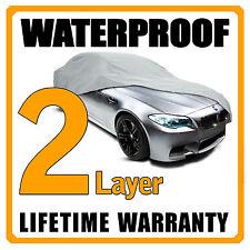 2 Layer Car Cover Breathable Waterproof Layers Outdoor Indoor Fleece Lining Fij