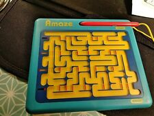ThinkFun  Amaze Challenge Game - 16 Mazes in One -Moveable Maze That Changes