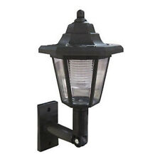 FT- Cy_ CW_ Solar LED Light Path Way Wall Landscape Mount Garden Fence Lamp Outd