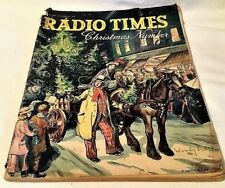 CHRISTMAS RADIO TIMES 25-31 December 1938 Xmas Special Issue