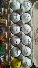 Wilson staff golf balls. 1 dozen. Excellent condition
