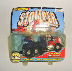 ULTRA RARE!!!!  Stomper Road King Mack Semi Tractor w RACING WING NIP MIP TINCO