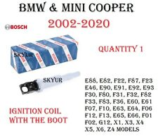 BMW and Mini Cooper Ignition Coil With Connector Boot BOSCH OEM