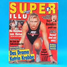 Super Illu 15-1992   02.04.1992 Katrin Krabbe Hansa Rostock Schlachtfeld Straße