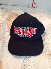 MLB BOSTON RED SOX OPENING DAY FENWAY PARK 2000 HAT BASEBALL CAP TWINS ENT
