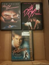Lot 3 80s Dvd Movies Dirty Dancing Footloose Risky Business Swayze Cruise Bacon