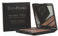 Eve Pearl Blush Trio 3 Radiant Shades Sassy Cheeks Full Size Palette NEW Boxed