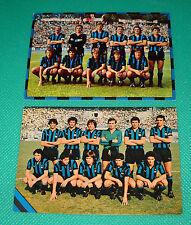CARTOLINE UFFICIALI SQUADRA INTER 1974/75 - 1978/79 - cm. 10,5X15