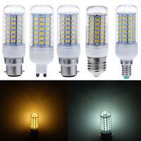 E14/E27/G9/B22/GU10 9W/12W/15W 5730 Chip LED SMD Corn Light Bulb Spot Lamp Cheap