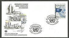 UNO-Wien/ Flaggen MiNr 405 FDC