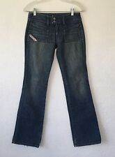 "Diesel Hush-DS Style womens Size 25 X 32"" Designer Distressed Jeans"